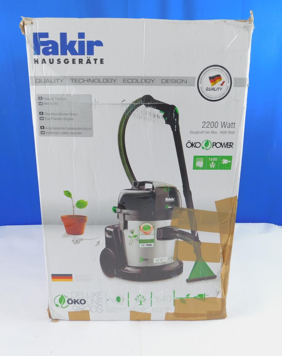 10 Staubsaugerbeutel für Fakir Waschsauger WS 9800 S Öko Filtertüten WS9800S
